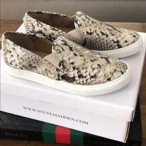 Steve Madden snake skin sneakers